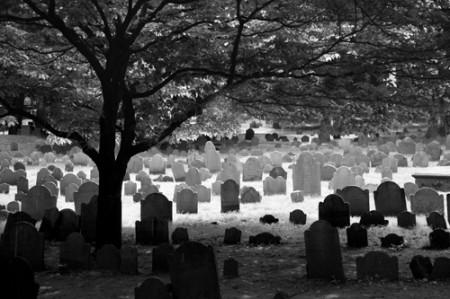 Cementerio | Boston  _ © esmya-estudio 2009