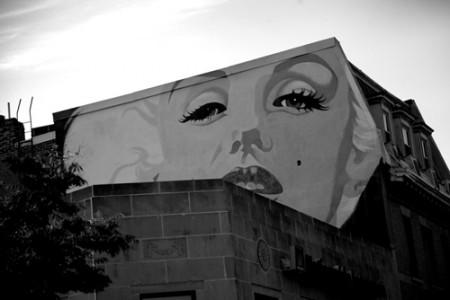 Mural Marilyn Monroe | Washington  _ © esmya-estudio 20010