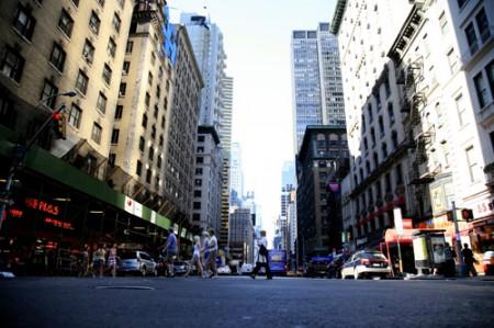 7th Avenue | New York  _ © esmya-estudio 2008