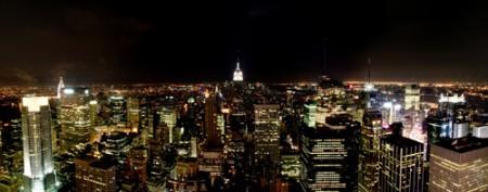 Panorámica nocturna | New York  _ © esmya-estudio 2008