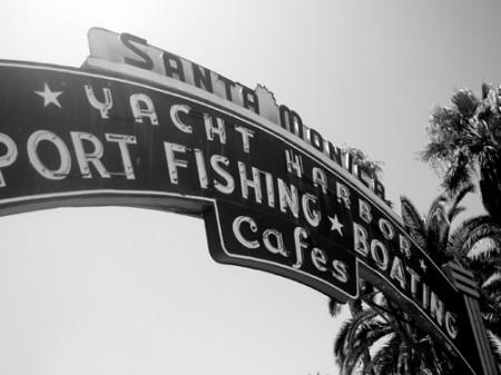 Pier of Santa Monica | Los Angeles _ © esmya-estudio 2008