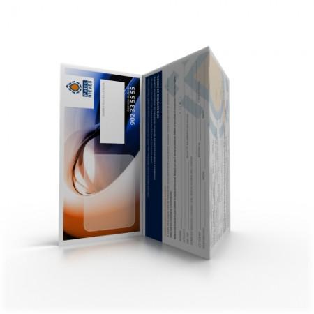 Tríptico Tarjeta Premium | PETRONIEVES