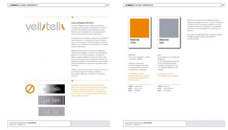 Colores corporativos | VELLATELIA
