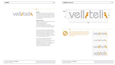 Dimensiones nuevo logotipo | VELLATELIA